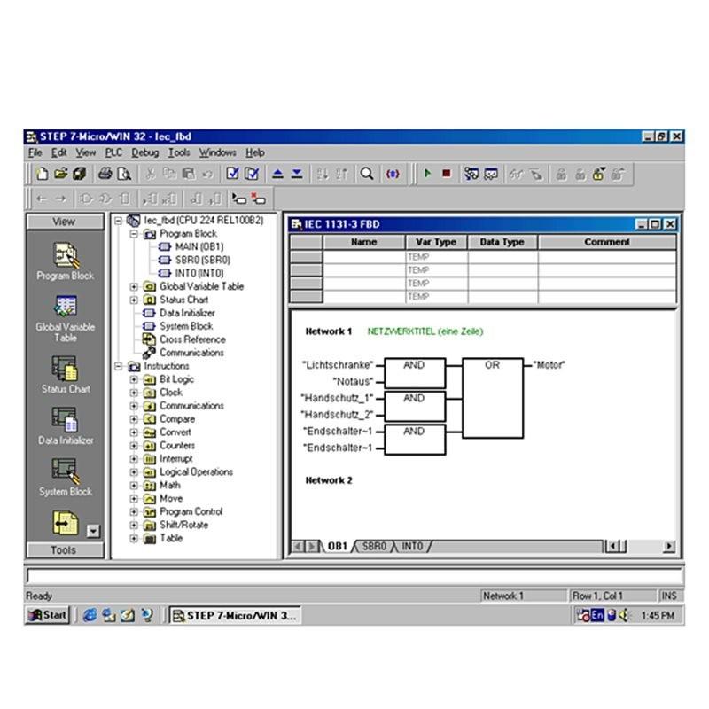 Siemens 6ES7830-2BC00-0YX0 SIMATIC STEP7-MICRO / WIN ADD ON: BIBLIOTECA DE INSTRUCCIONES V1.1 (USS + MODBUS)