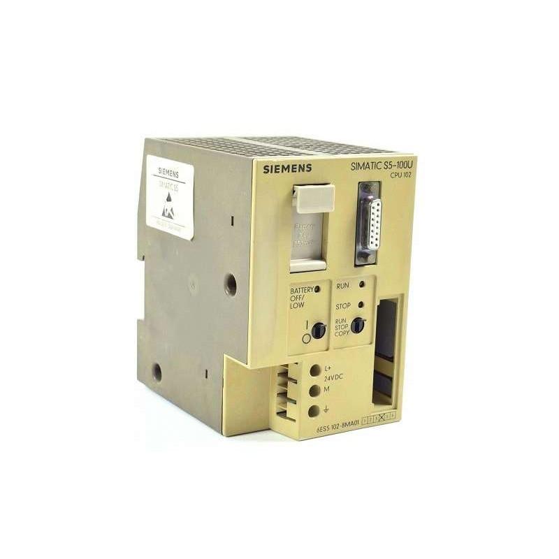 6ES5102-8MA01 SIEMENS Simatic S5 102 CPU Module
